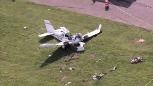 В Италии на авиашоу потерпел крушение истребитель