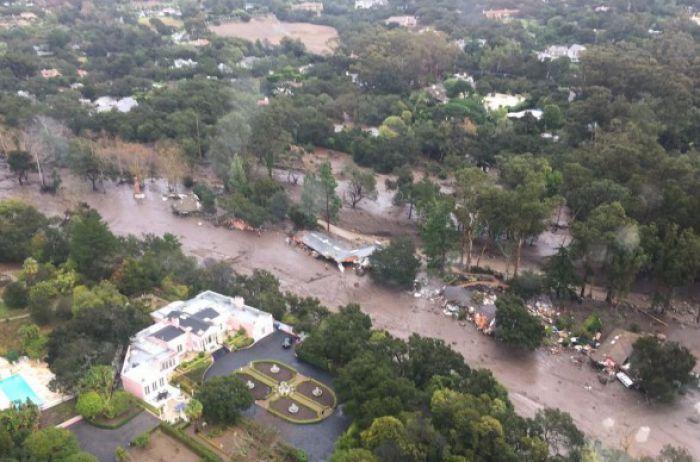 Из-за наводнений и оползней в Калифорнии погибли 13 человек