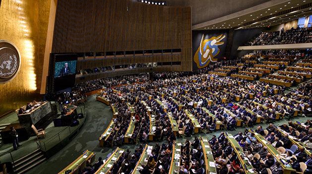 Россия собиралась организовать выступление в ООН представителя боевиков ОРДЛО