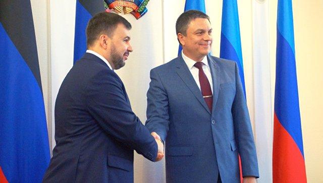 Главой «ЛНР» стал Пасечник, «ДНР» - Пушилин