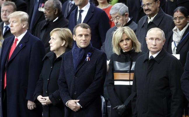 В Париже Трамп, Макрон, Меркель и Путин обсуждали ключевые вопросы