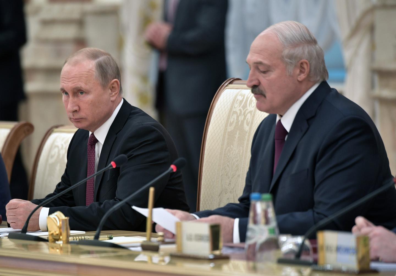 Лукашенко и Путин поспорили о цене на газ