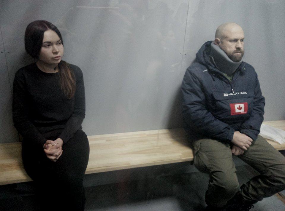 Подозреваемых по делу о ДТП в Харькове оставили под стражей