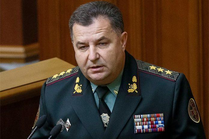 Полторак утверждает, что не принимал решения о выводе войск из Крыма в марте 2014 года
