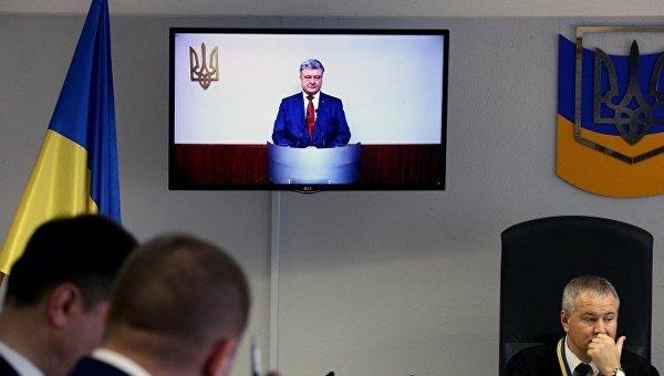 Прокуроры заявили, что защита Януковича не захотела задавать вопросы Порошенко