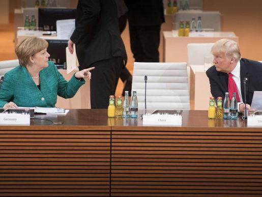 Меркель и Трамп попали под чеченские санкции