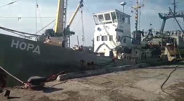 Несколько членов экипажа судна «Норд» смогли сбежать из Украины