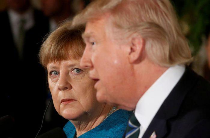 Дональд Трамп убеждал Ангелу Меркель отказаться от строительства «Северного потока-2»