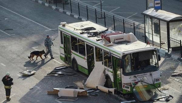 В Дебальцево взорвался рейсовый автобус, погиб один человек