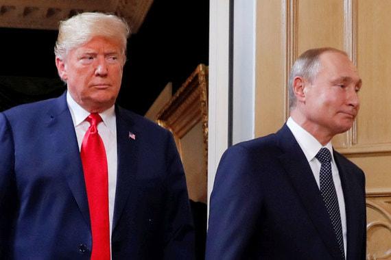 Трамп назвал встречу с Путиным с глазу на глаз «хорошим началом»