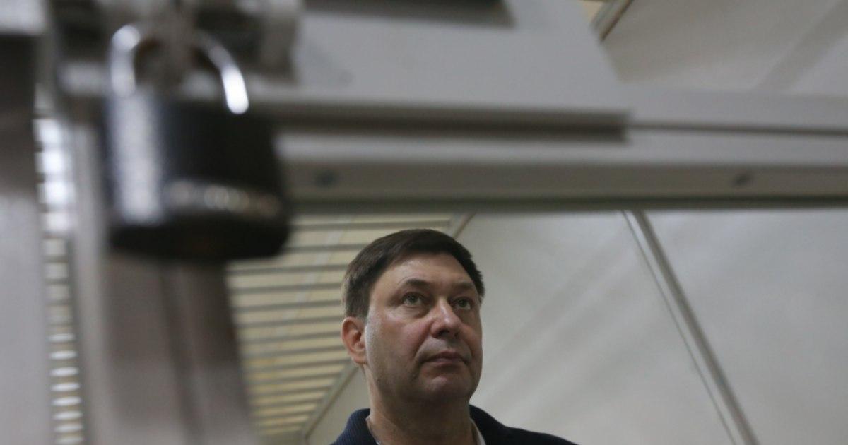 Вышинский останется под арестом до 13 сентября