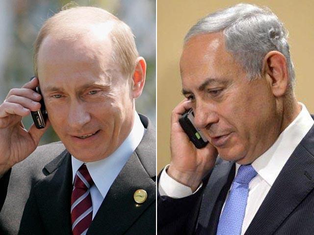 Нетаньяху обсудил по телефону с Путиным передачу С-300 в безответственные руки