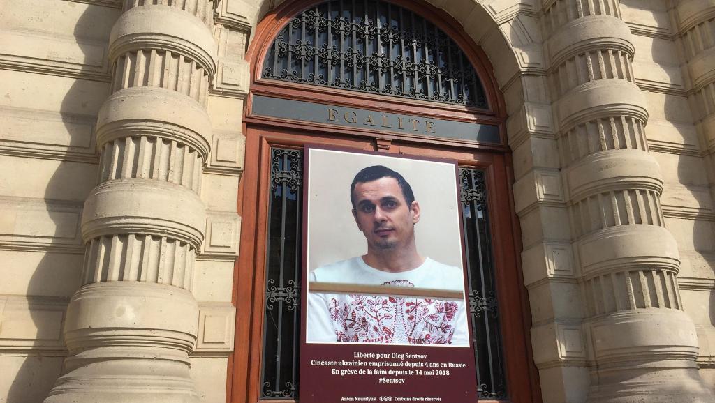 Сенцов теперь является почетным гражданином Парижа