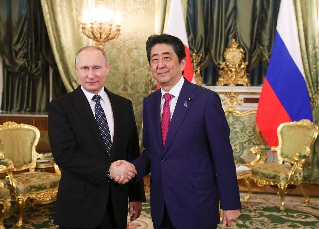 В Кремле прошли трехчасовые переговоры Путина и Абэ
