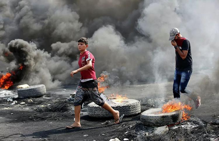 В ходе протестов в Ираке погибли 72 человека
