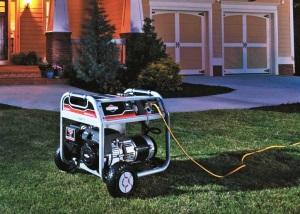 Как должен быть установлен генератор