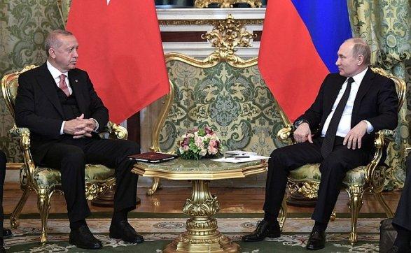 Путин рассказал о переговорах с Эрдоганом