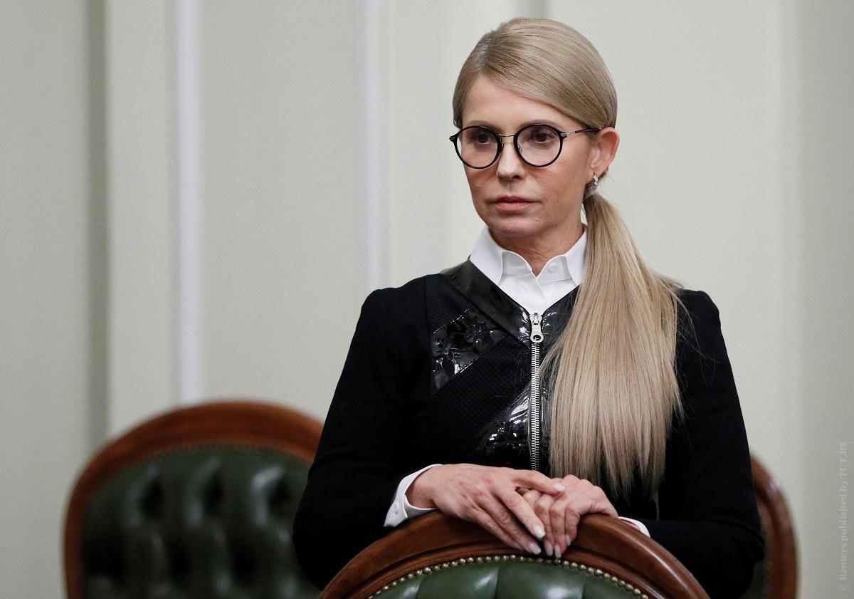 Тимошенко возмущена разговором Зеленского с Порошенко