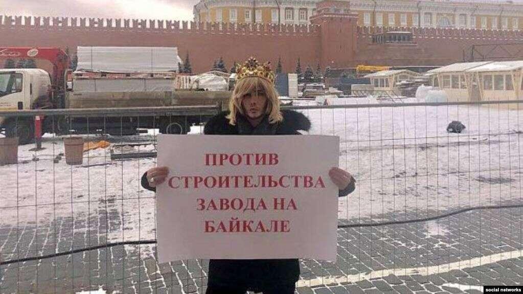 Сергея Зверева оштрафовали за одиночный пикет