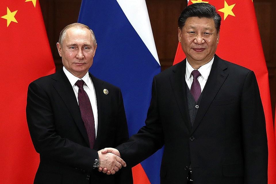 В Кремле прошла встреча Си Цзиньпиня и Путина