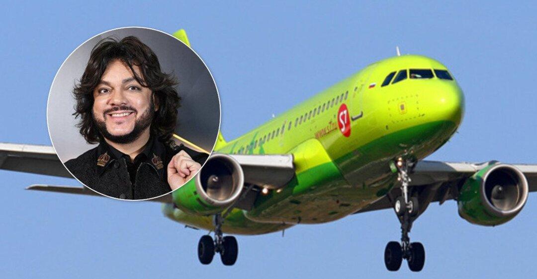 Самолет с Киркоровым на борту совершил