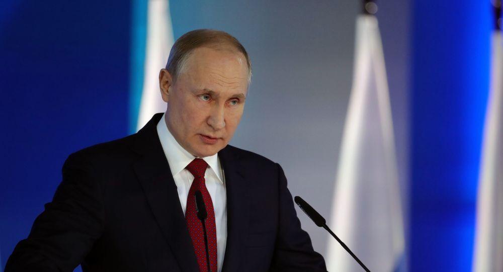 Владимир Путин заявил, что поправки в Конституцию сделают из РФ правовое государство
